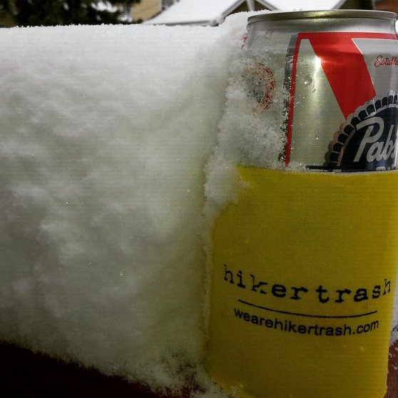 We make coozies, trucker hats, shirts, silipints and more. Stuff for hikers.