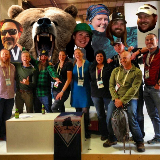 Thru-hikers had a bigger presence than ever at the OR Show this year.