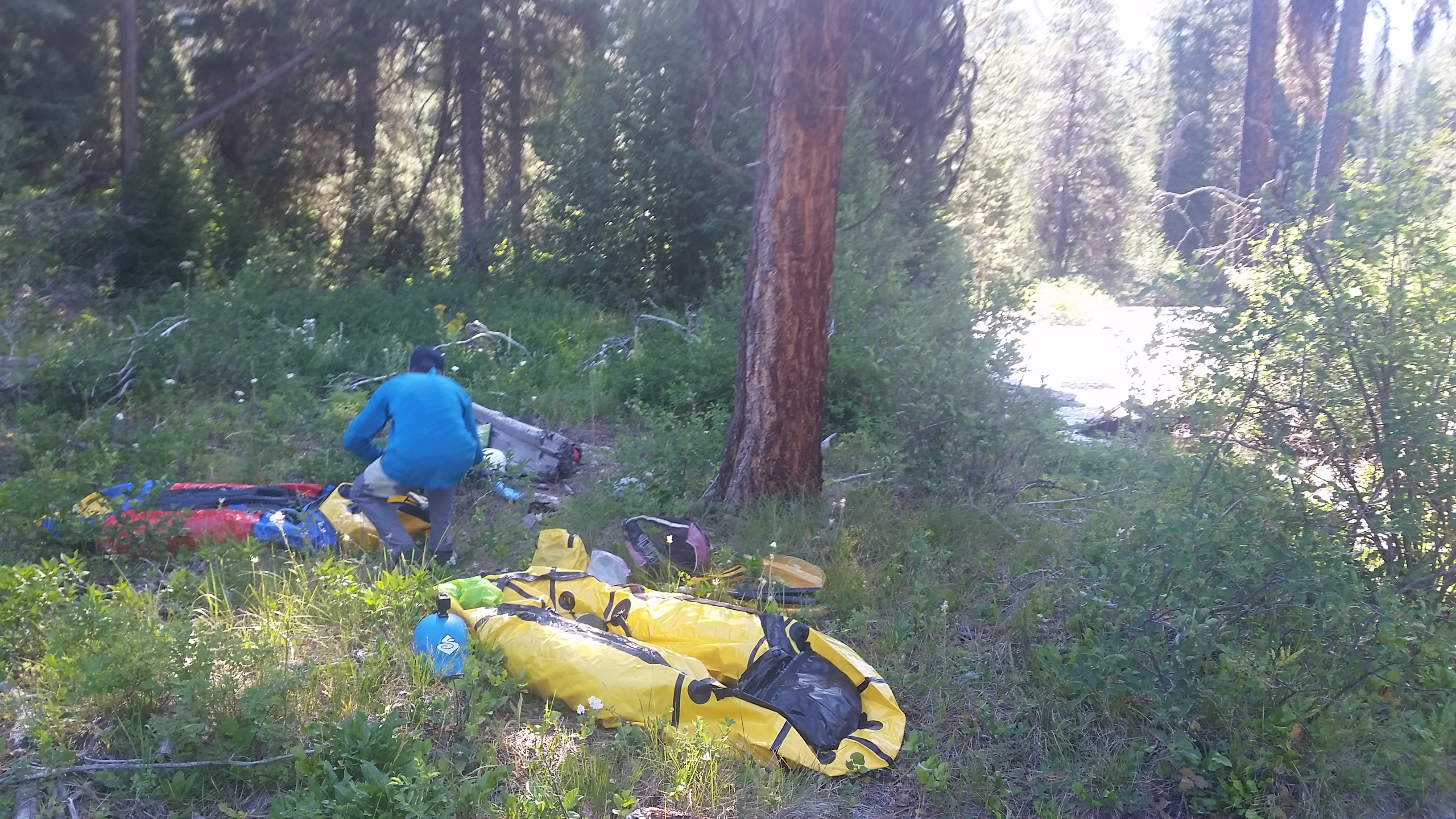 Adventures with Packraft: South Fork of the Payette