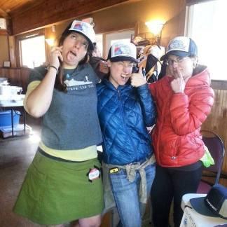 These ladies? Definitely hikertrash.