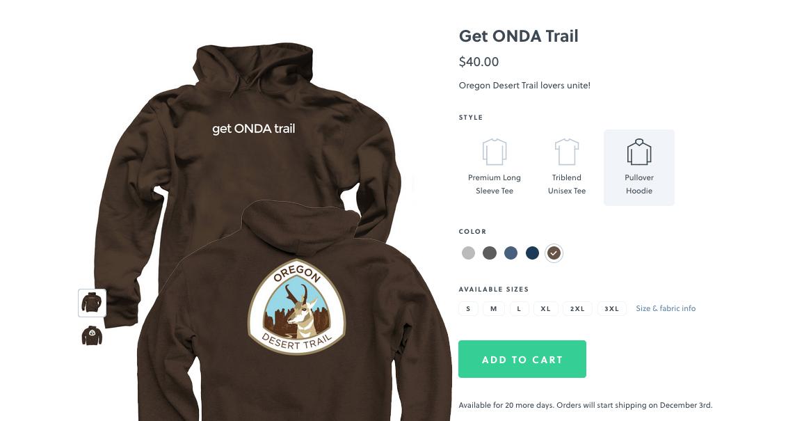 get ONDA trail