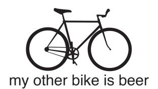 bike is beer